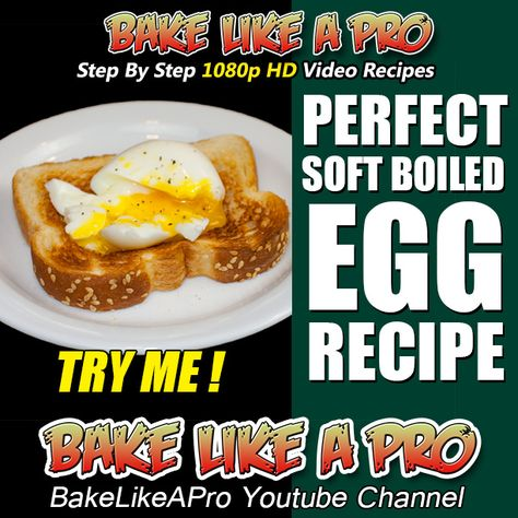 PERFECT SOFT BOILED EGG RECIPE  ►►► CLICK PICTURE for video recipe