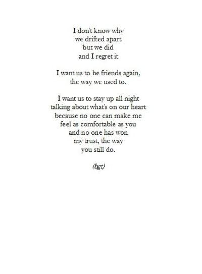 Ex Best Friend Tumblr Old Friend Quotes Ex Best Friend Quotes Friends Quotes