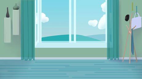 أثاث غرفة المنزل الحديثة الكرتون الخلفية Room Furnishing House Rooms Modern House