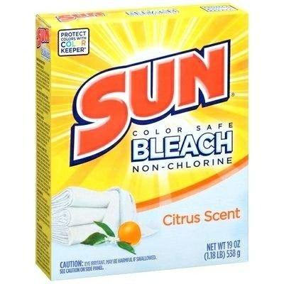 Sun Color Safe Bleach Box Laundry Detergent Powder Laundry