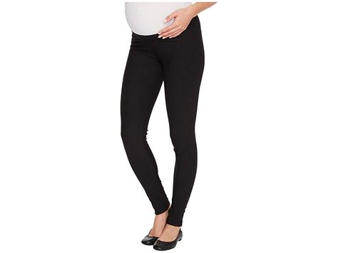 3bd1c64c1b6ec Plush Maternity Fleece-Lined Cotton Under-Belly Leggings (Black) Women's  Clothing. Mommy-to-be should be nice and cozy in these Plush Maternity  Fleece-Lined ...