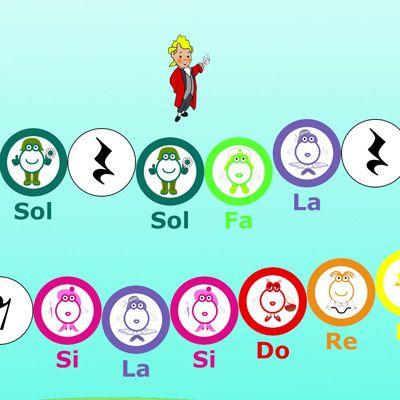 Partituras Y Canciones Pequeño Mozart Educación Musical Educacion Musical Musical Juegos De Música