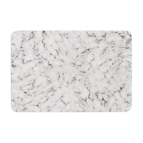 Kess Inhouse Will Wild Marble Memory Foam Bath Mat Ww1003abm01