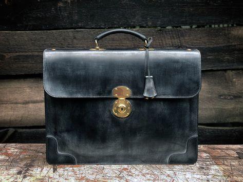 42f1ea43ed1f Мужские сумки ручной работы. Ярмарка Мастеров - ручная работа. Купить  Портфель кожаный в деловом стиле мод.3.1. Handmade.