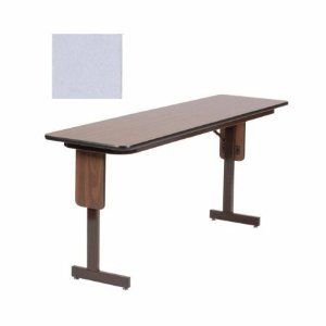 Folding Seminar Table With Panel Leg 24x60 Adjustable Height Table Home Table Furniture