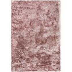 Reduced shaggy carpets- benuta Essentials Shaggy Rug Whisper Rosa cm – Long pile rug for living room be -