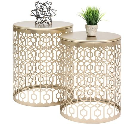 Home Nesting Accent Tables End Table Sets Nightstand Decor