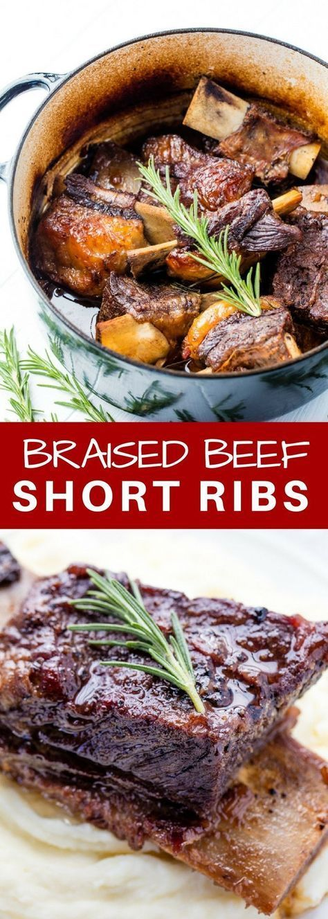 Classic Braised Beef Short Ribs Recipe Beef Short Rib Recipes Rib Recipes Recipes
