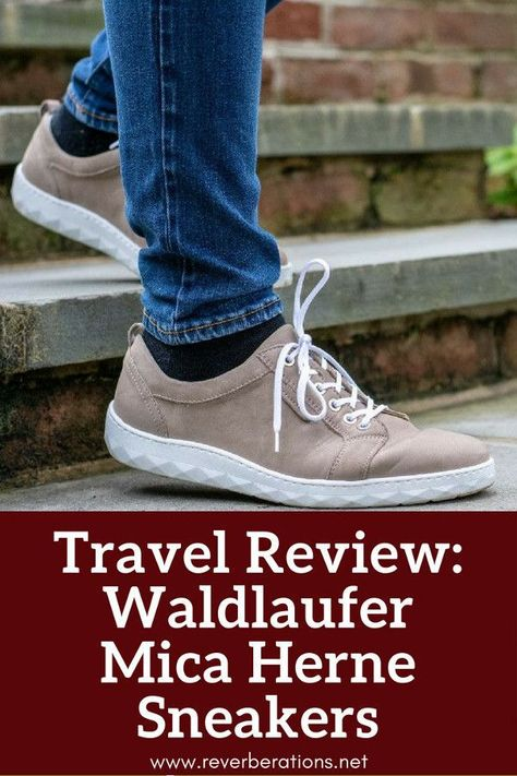 d46d9980 German shoe brand Waldlaufer make stylish and comfortable shoes perfect for  travel and everyday. Review of Waldlaufer's Mica Herne sneakers.