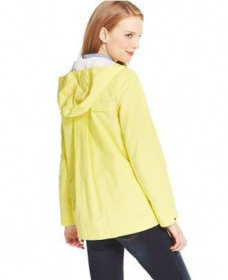 offer discounts cheap price super cute Tommy Hilfiger Hooded Raincoat - Clearance - Women - Macy's ...