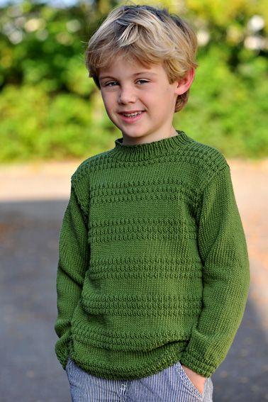Strik flotte trøjer og bluser til børn | Strik til skolestart