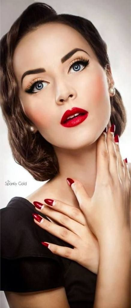64 Ideas For Wedding Makeup Natural Asian Red Lips Wedding