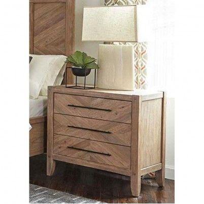 Wood Nightstand In Light Brown Bedroom Night Stands Wood