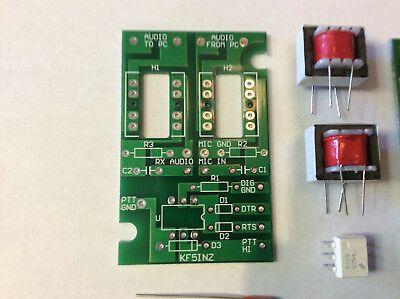 Psk 31 Easy Digi Sound Card Interface Psk Rtty Ft 8 Ft 4 Jt 65 Pcb Kit Ebay In 2021 Sound Card Interface Sound