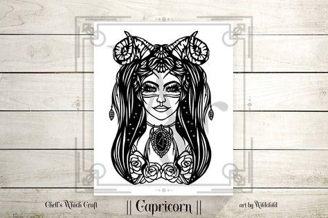Zodiac Female Capricorn || Vinyl Decal for your car, mug, coffee cup, tumbler, window, helmet. #CapricornFemale #Capricorndecal #Capricornwoman #zodiac #astrology #zodiacsigns #horoscope #scorpio #virgo #love #horoscopes #aquarius #aries #libra #pisces #gemini #leo #sagittarius #capricorn #taurus #cancer #zodiacposts #zodiaco #zodiacfacts #zodiacsign #tarot #zodiaclove #moon #art #zodiacpost #chellswhichcraft