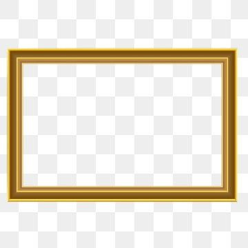 Golden Frame Png Vector Psd And Clipart With Transparent Background For Free Download Pngtree Frame Border Design Frame Gold Clipart