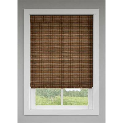 Levolor Blinds Shade 2043479 36 X 64 Natural Shade Cinnamon Cordless Roman Shades Shades Blinds Bamboo Shades