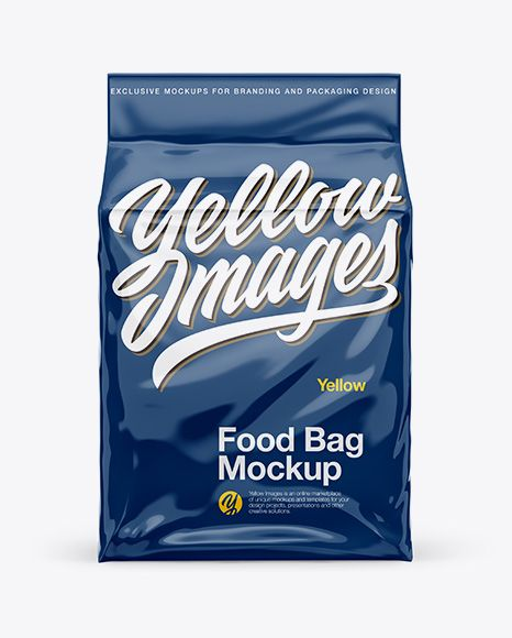 Download Glossy Stand Up Food Bag Mockup Front View In Bag Sack Mockups On Yellow Images Object Mockups Free Psd Mockups Templates Business Card Mock Up Bag Mockup