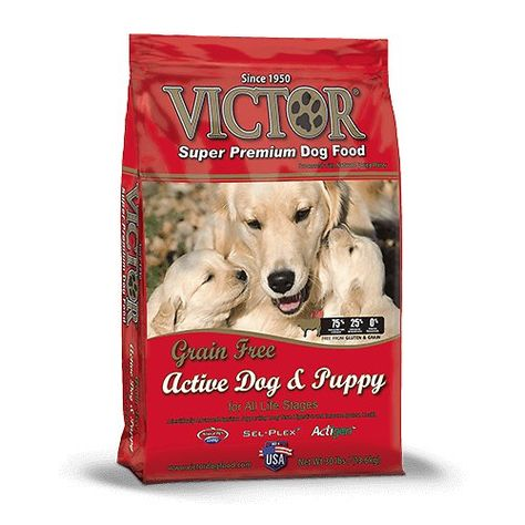 Victor Active Dog Amp Puppy Formula Grain Free Dry Dog Food Is