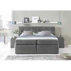 Reduced Box Spring Beds Box Spring Bed Bea 140 200 Cm Light Gray