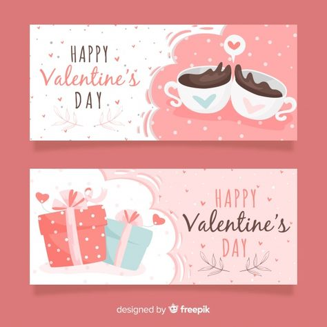 Free printable editable Valentine's day banners for e-commerce shop store for social media FB facebook face book. Happy Valentine's Day.  Banner Coffee Heart Love Gift Hand Template Speech bubble Banners Hand drawn Gift box Celebration Valentines day Valentine decor shabby chic Bubble Labels Shape Coffee cup Cup Dots #banner #coffee #heart #love #gift #banners  #valentinesday #valentines'day  #freeprintable #printable #freebies #pinkprintable #pink&teal pink andd teal blue