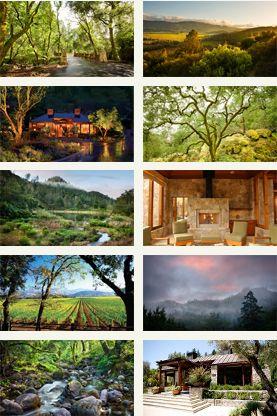 Napa Resort Photo Gallery Calistoga Ranch Valley Modern Hotel Boutique