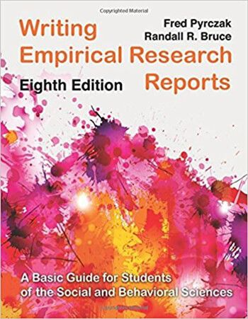 Download Writing Empirical Research Reports A Basic Guide For Students Of The Social And Behavioral Sc Empirical Research Behavioral Science Scientific Writing