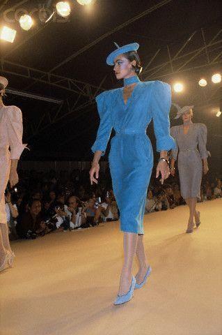 1980 - Claude Montana Show #FashionWomenSLuxuryDress