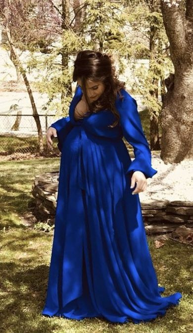 48++ Royal blue maternity dress ideas information