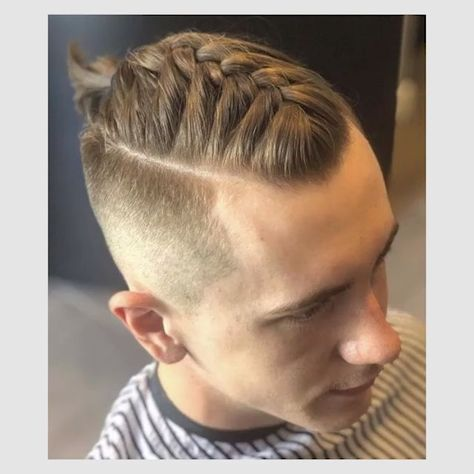 25 Super Cool Braided Hairstyles for Men Best Braids Pics #hairstyles #hairstylesformen