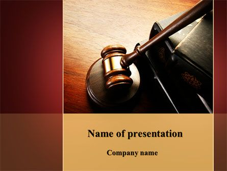 13 best legal presentation themes images on pinterest mallet of judge presentation template toneelgroepblik Gallery
