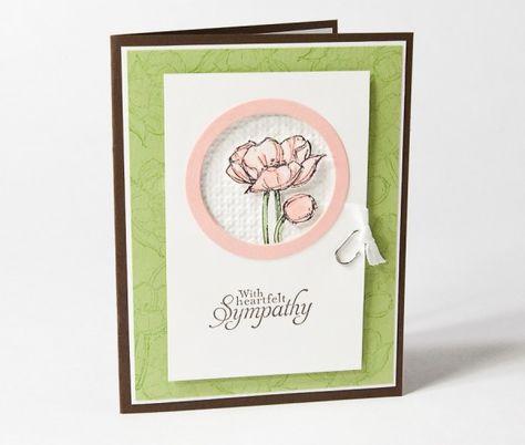 Sympathy Card - Pretty!