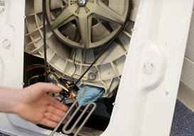 كيفية اخراج الأشياء العالقه في حله الغسالة المسببه لصدور ضوضاء من الغسالة Washing Machine Drum Washing Machine