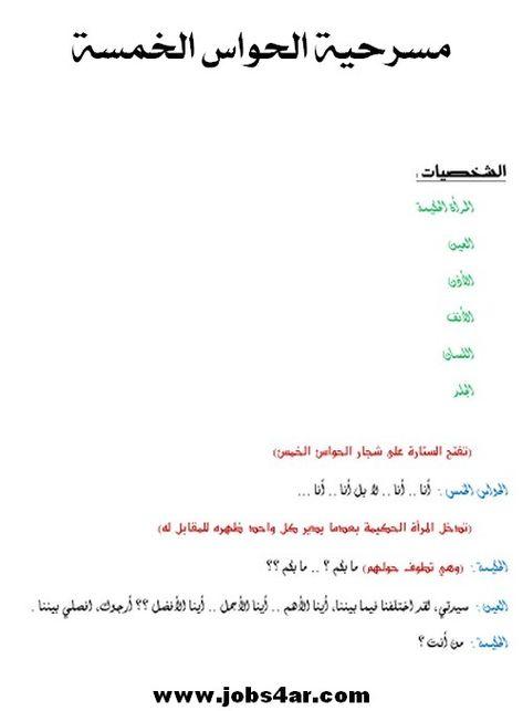 مكتبة مسرحيات أطفال الروضة مسرحيات خاصة برياض الاطفال مسرحيات مكتوبة لرياض الاطفال Arabic Alphabet For Kids Alphabet For Kids Preschool Games