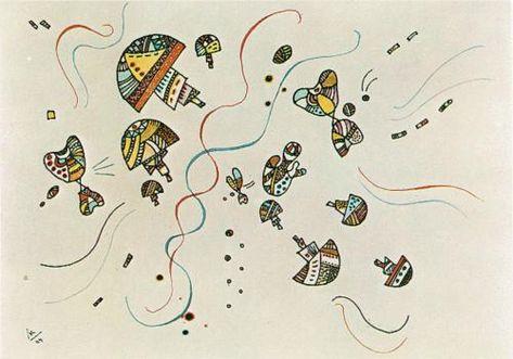 Last watercolour -  Wassily Kandinsky 1944