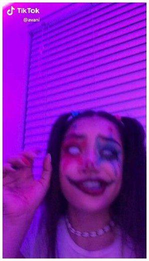Tumblrgxals Clown Check Tiktok Makeup Clownchecktiktokmakeup In 2021 Halloween Makeup Clown Scary Clown Makeup Cute Clown Makeup