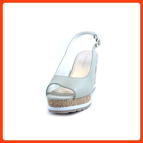 Women's sandals Apepazza in beige ivory leather open toe