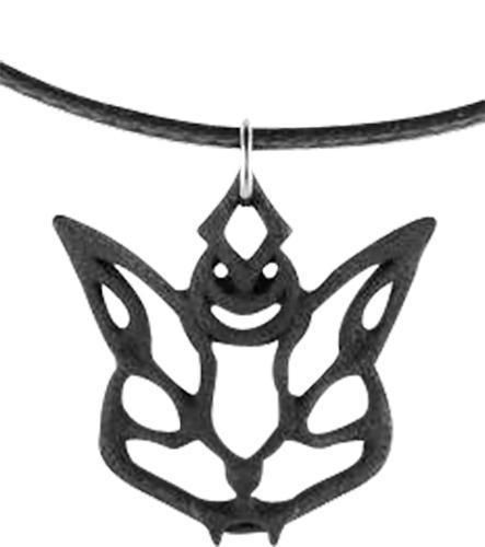 A Cat Choker with a Crescent Moon Crown Cat Familiar Choker in Black Wide Eyes and Tiny Fangs by Rogue /& Wolf