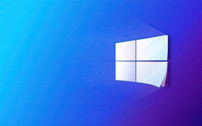 Download Wallpapers Windows 10 White Logo Blue Background Windows Logo Sheets Of Paper Windows Paper Logo Operating System Windows Besthqwallpapers Com In 2021 Wallpaper Windows 10 Paper Logo Windows 10