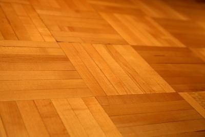 You can refinish existing parquet floors with stain or purchase new, unfinished parquet tiles.