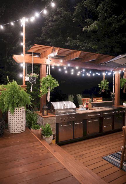 11 Best Outdoor Kitchen Ideas And Designs For Your Stunning Kitchen Arka Bahceler Bahce Teras Dekoru Arka Bahce Mutfagi