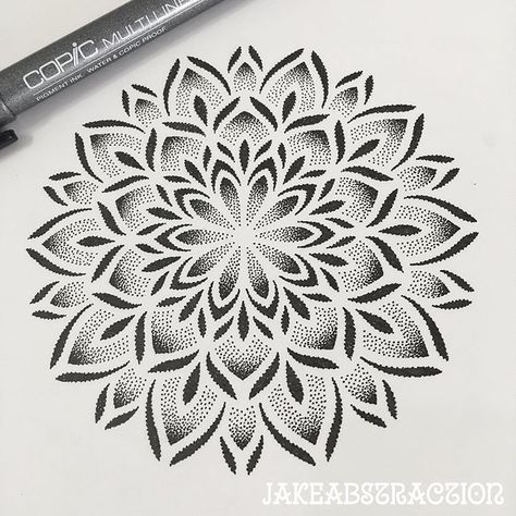This mandala along with many more are available to tattoo this month only for $250 (palm size). Direct message me all booking enquiries. Love and light #dotworktattoo #dottattoo #mandalatattoo #tattoomandala #tattoodotwork #stippletattoo #geometrictattoo #geometrytattoo #brisbanetattoo #brisbaneartist   Artist: @jakeabstraction