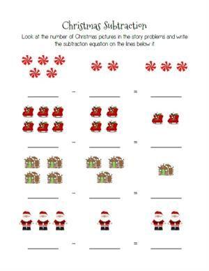 Christmas Themed Count And Color Worksheets 3 Printable Versions Preschool Christmas Worksheets Christmas Math Worksheets Christmas Math Worksheets Kindergarten