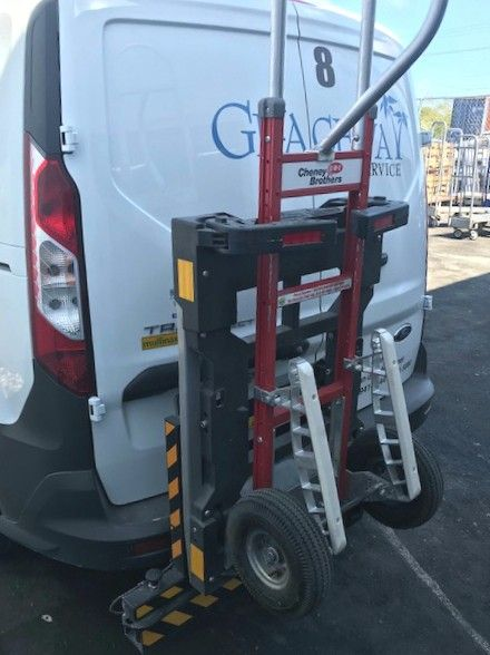 Hts 20shm 1 Units Recently Installed On 2018 Ford Transit Connect Mini Cargo Delivery Van For Graceway Iga Supermarkets In The Isl Fuel Cost Ford Transit Fleet