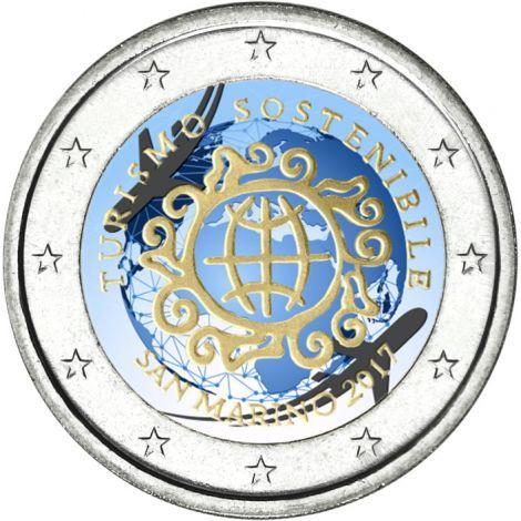 2 Euro San Marino 2017 Anno Mondiale Del Turismo Munten