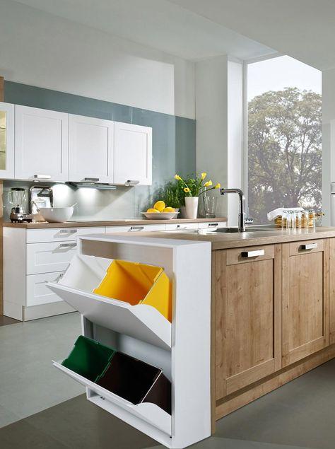 Die besten 25+ Hängeschränke küche nussbaum Ideen auf Pinterest - arbeitsplatte küche nussbaum