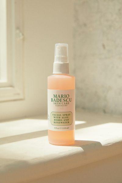 Mario Badescu Facial Spray With Aloe Herbs And Rosewater 4 Oz In 2020 Mario Badescu Facial Spray Mario Badescu Facial Spray