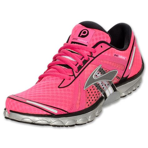 My new running shoes- best I've ever owned! They make running feel easy & like I'm running on clouds! Brooks Pure Cadence Women's Running Shoes.