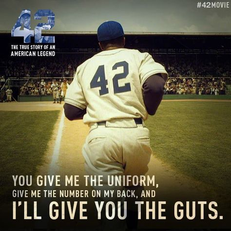 """""""42 The True Story of an American Legend"""" (The Jackie Robinson Story)"""