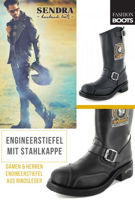 Engineerstiefelette Tang Boots Sendra 11973 Thinsulate QCtshdrx
